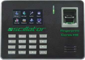 Fingerprint Clockin In System