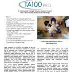 TA100PRO Software Spec Sheet