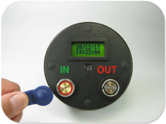 Battery Operated Time And Attendance System
