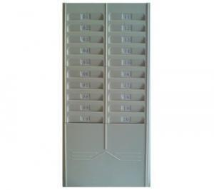 Numbered Time Card Rack