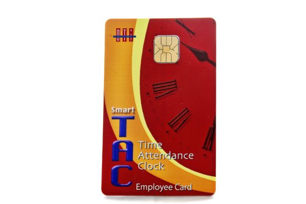 Staff Smart Cards for use with the Accutime Smart Card System