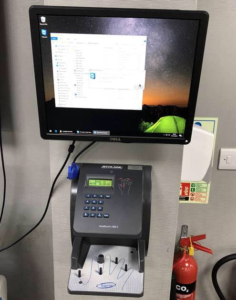 Hand Scanner Customer Installation