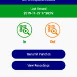 Mobile Clocking in App Brochure